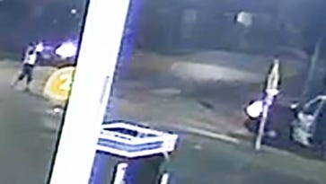 Screen grab of video released by Houston Police Department of Officer-Involved Shooting Investigation at 6700 Cullen on July 9, 2016.
