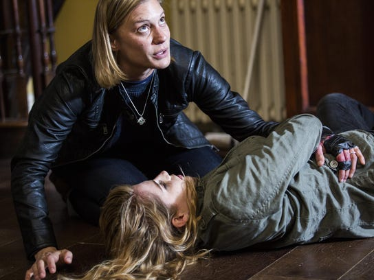 A desperate mother (Sackhoff) tries to protect her
