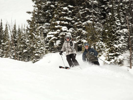 Skiing in Jackson Hole