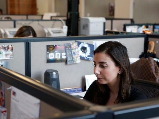 Jena Pellegrino, a media planner at Lockard & Wechsler