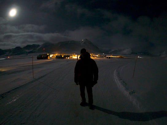 Mark Moline in Ny-Alesund