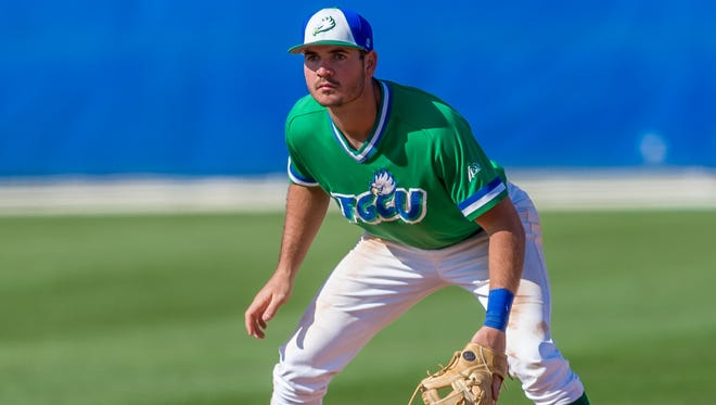FGCU's Jake Noll was drafted in the seventh round, No. 214 overall, by the Washington Nationals Friday in the MLB draft.