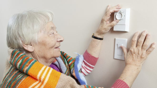 Older people need to take precaution in cold winter weather, including staying warm.