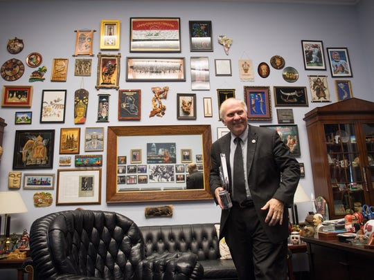 Rep. Steve Chabot in his House office.