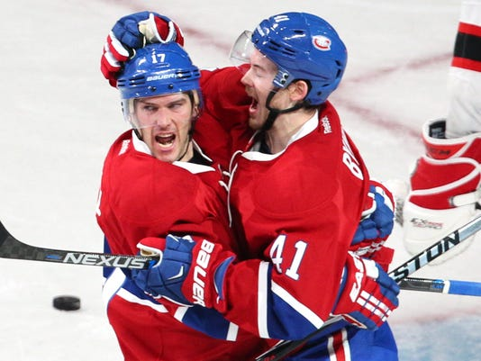 USP NHL: NEW JERSEY DEVILS AT MONTREAL CANADIENS S HKN CAN QU