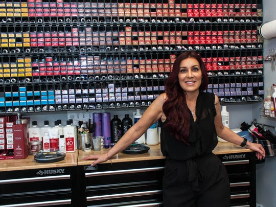 Michelle Cleveland owns Hair Addict Salon & Extension Bar in Toms River.