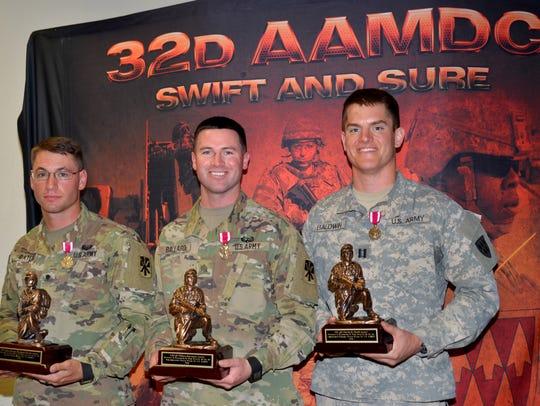 Winners of the Blackjack Warrior Week competition were,