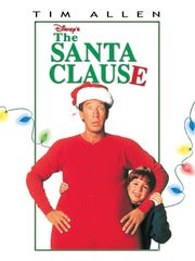The Santa Clause starring Tim Allen.