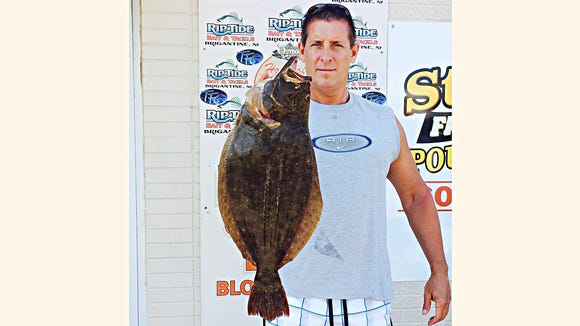 Joe Horan just got back from the reef with his Dad and had almost a 5 pound flounder and some other shorts. That must be where all the fish have gone because its tough to find a keeper in the back bays. 8/15/15