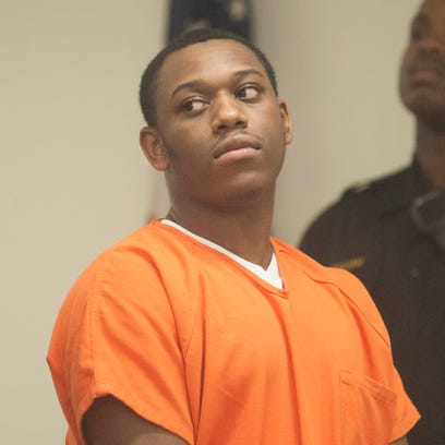 Daikwon Alford, 18, of Camden, is arraigned in Superior
