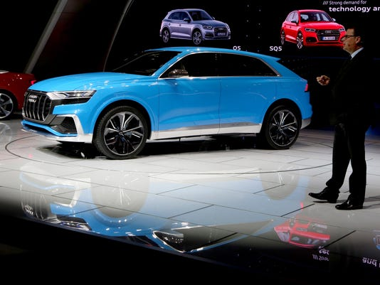 Audi Pushes Ultra Luxury With Q SUV Flagship Concept - Audi car show