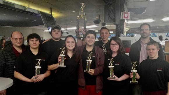 Park Ridge/Emerson repeated as NJIC Patriot Division bowling champion this season.