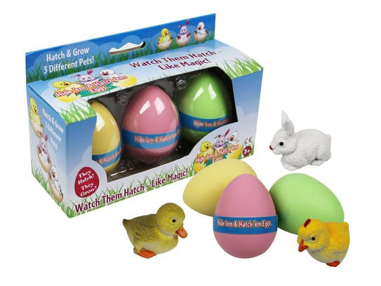 """""""Grow"""" your own toy bunny, chick or duck with this"""