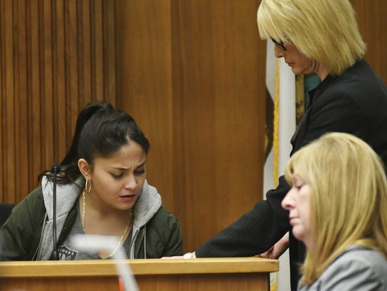 Monique Perez testified during the hearing of Chaylin