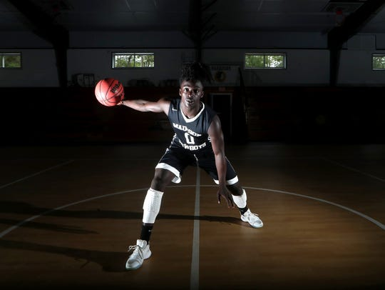Madison County junior point guard Travis Jay is the