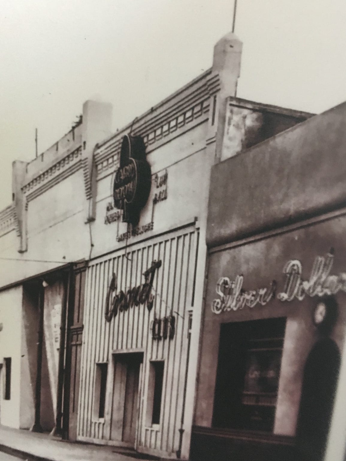 This is a historical photo of downtown Port Hueneme.