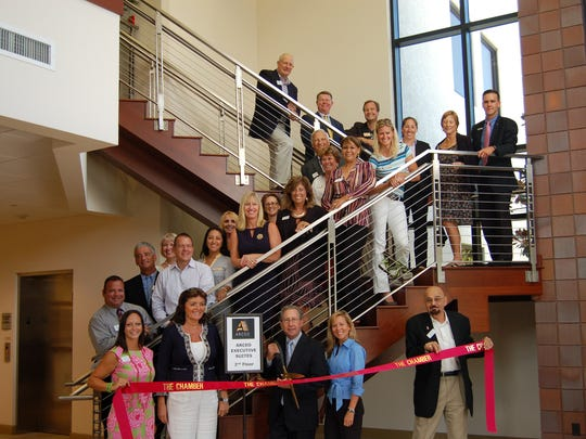 The Greater Naples Chamber of Commerce hosted a ribbon-cutting ceremony to welcome ARCEO in Naples.