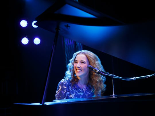 "A scene from ""Beautiful: The Carole King Musical."" Julia Knitel (""Carole King"")"