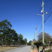Escambia County program installing an additional 517 street lights