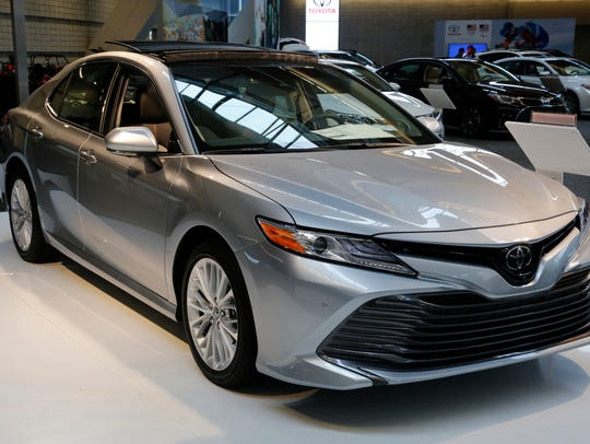 A 2018 Toyota Camry.