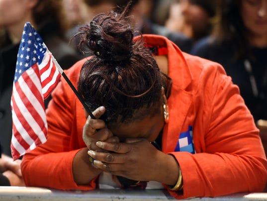 trump weeping