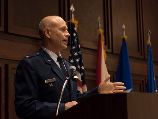 Col. William Sparrow assumed command of the 187th Fighter