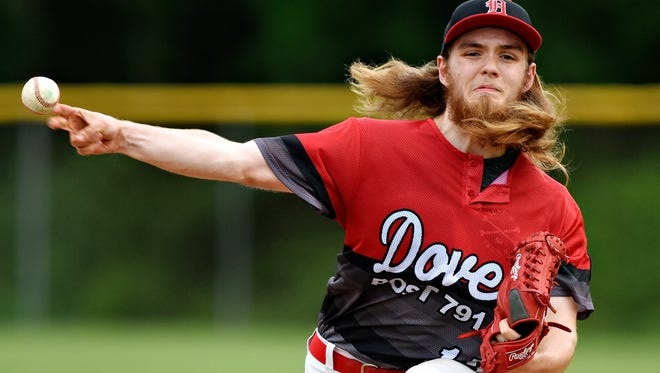 Dover's Josh Spirito was dominant on the mound Sunday in a 6-1 win over Shiloh. He struck out seven, walked two and allowed three hits in a complete-game effort.