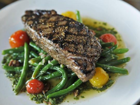 Steak at Lockeland Table.
