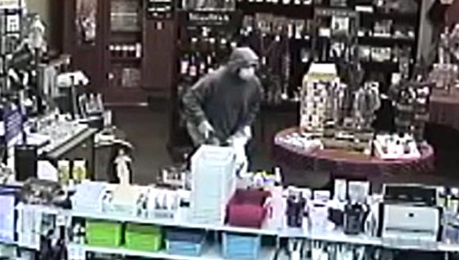 Rutherford County Sheriff's deputies are searching for a suspect who robbed Lascassas Drug Store of three types of medications about 5:15 p.m. on Dec. 29, 2017, a detective said.