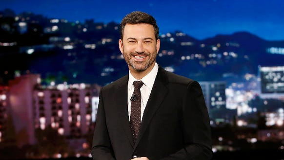 Savage Jimmy Kimmel includes daughter in annual Halloween candy trick