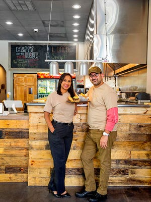 Ana and Hector Batista, owners of Tacos & Mas, will open a second location of their Latin-influenced restaurant on Woodruff Road.