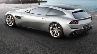 The new Ferrari Lusso may be one of the big stars of the Paris Auto Show