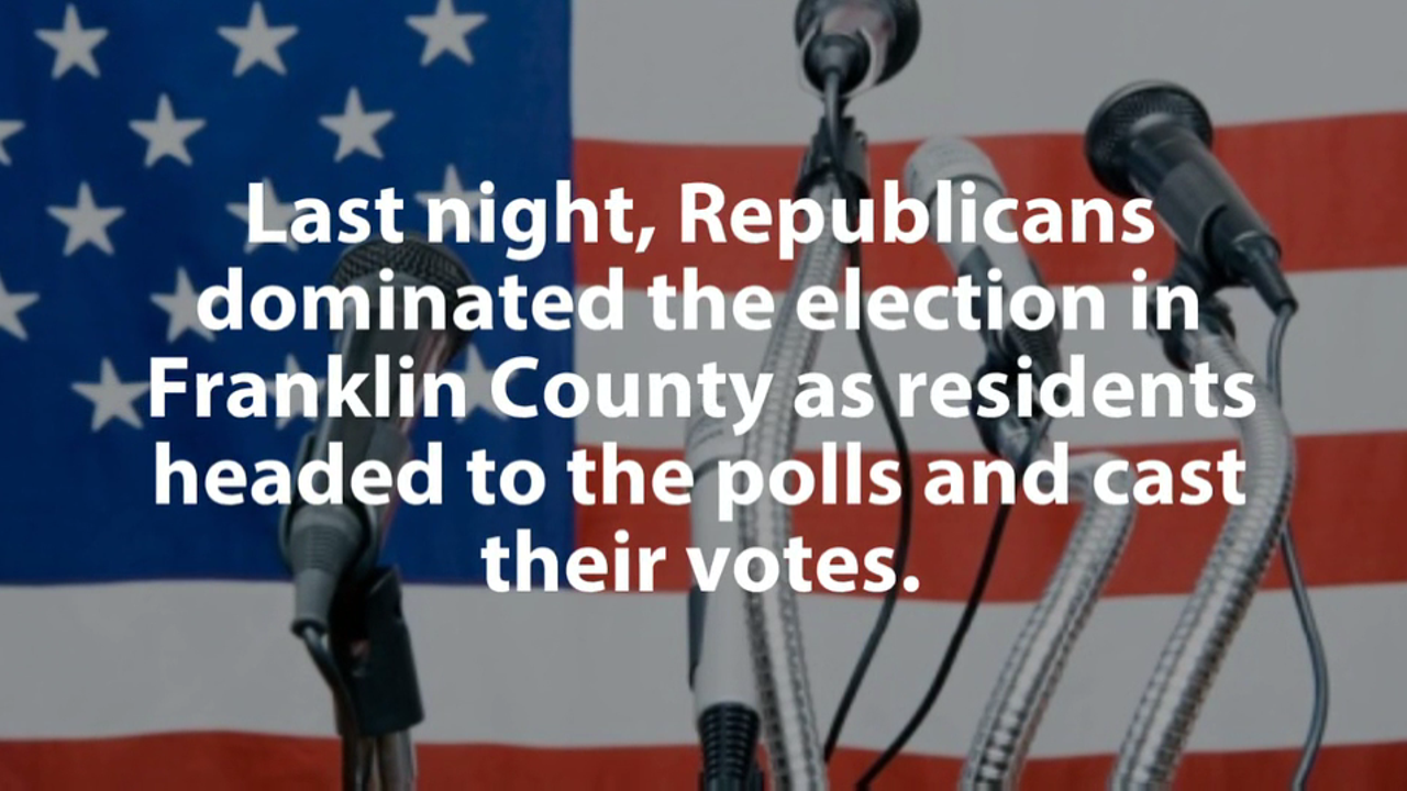 Watch as we breakdown the results for Franklin County for this year's election.