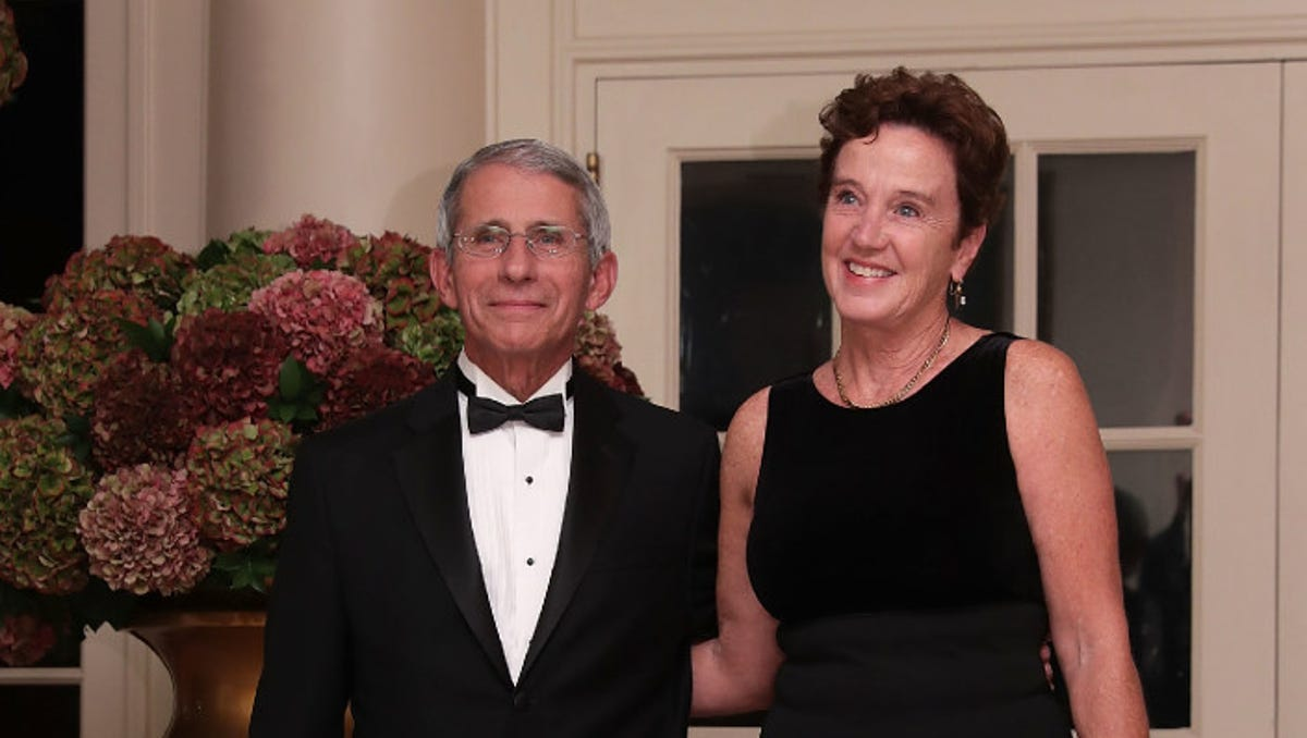 Fact check: Anthony Fauci isn't married to Ghislaine Maxwell's sister
