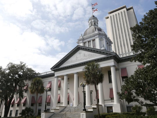The state Capitol is seen in this file photo. Florida's 2019 legislative session starts Tuesday, March 5.