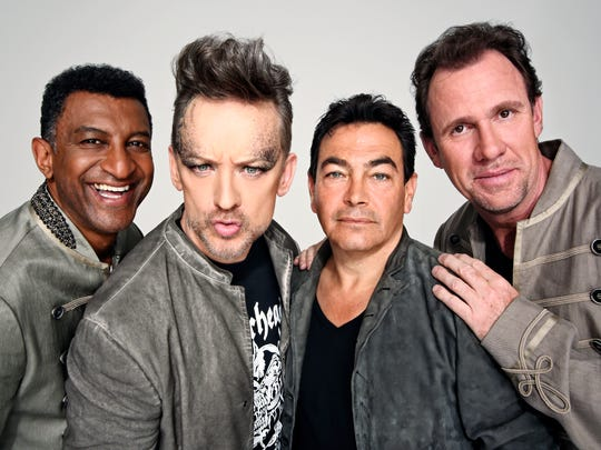 Culture Club (from left), Mikey Craig, Boy George, Jon Moss and Roy Hay.