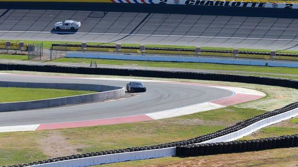 AP NASCAR CHARLOTTE TEST AUTO RACING S CAR USA NC