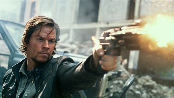 Mark Wahlberg plays Cade Yeager in 'Transformers: The
