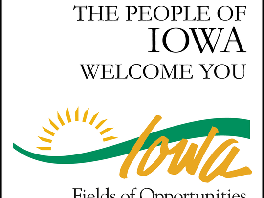 Does Iowa need a new state slogan, image?