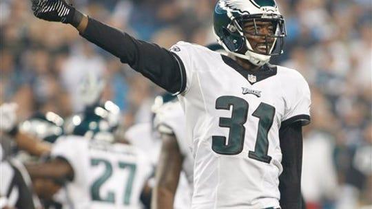 Eagles cornerback Byron Maxwell had 63 tackles and
