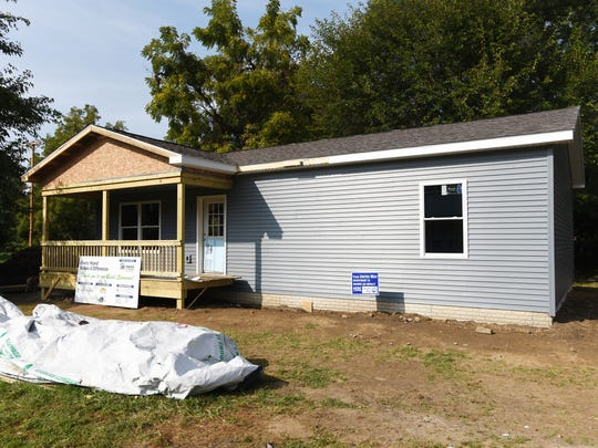 Habitat for Humanity has built a home at 327 Mead Street, and has five more planned.