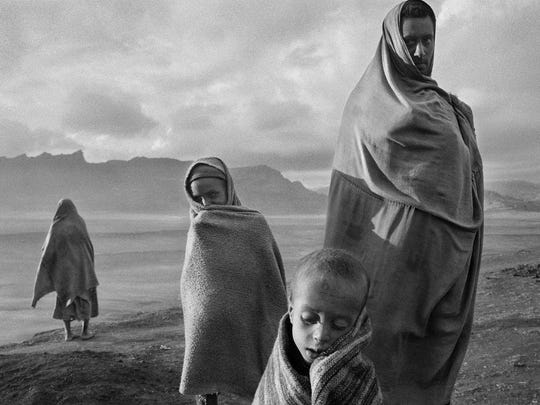 "This image by Sebastiao Salgado is seen in the film ""The Salt of the Earth."""