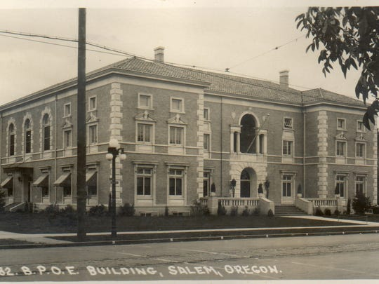 The former Salem Elks Lodge No. 336 on State Street was built in 1924-25 at a cost of $170,000.
