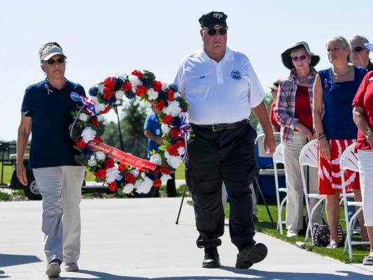 Memorial Day Ceremony at Cape Canaveral National Cemetery