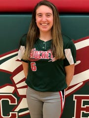 Oak Harbor senior Ashley Riley was Sandusky Bay Conference