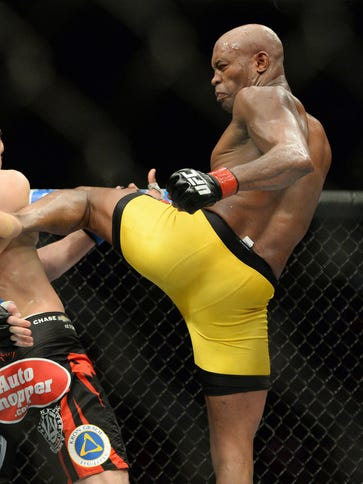Anderson Silva won his first fight in over a year.
