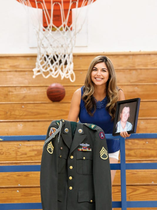 Monica Denning-Maldonado and her siblings are starting a 5K race, the Denning Dash 5K, to honor their father Charlie Denning, who was a Vietnam veteran. The proceeds will benefit the Charlie Denning Memorial Scholarship Fund for girls' basketball players.