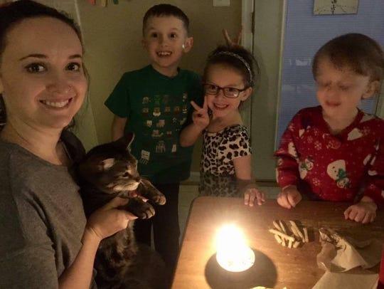 Barry's third birthday.