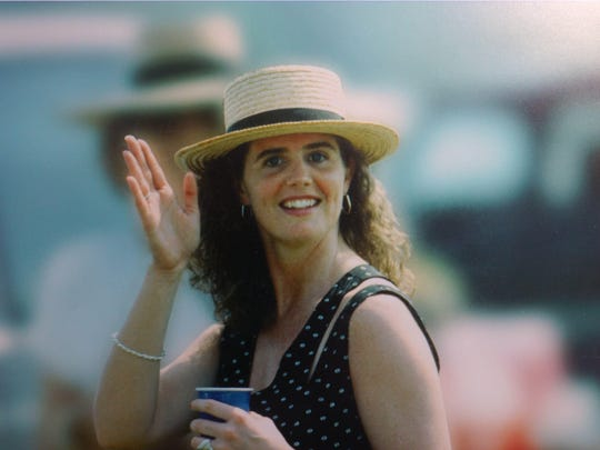Picture of Anne Marie Fahey from Point to Point in the mid-1990s.