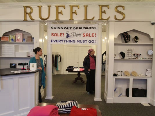 Ruffles Boutique going out of business